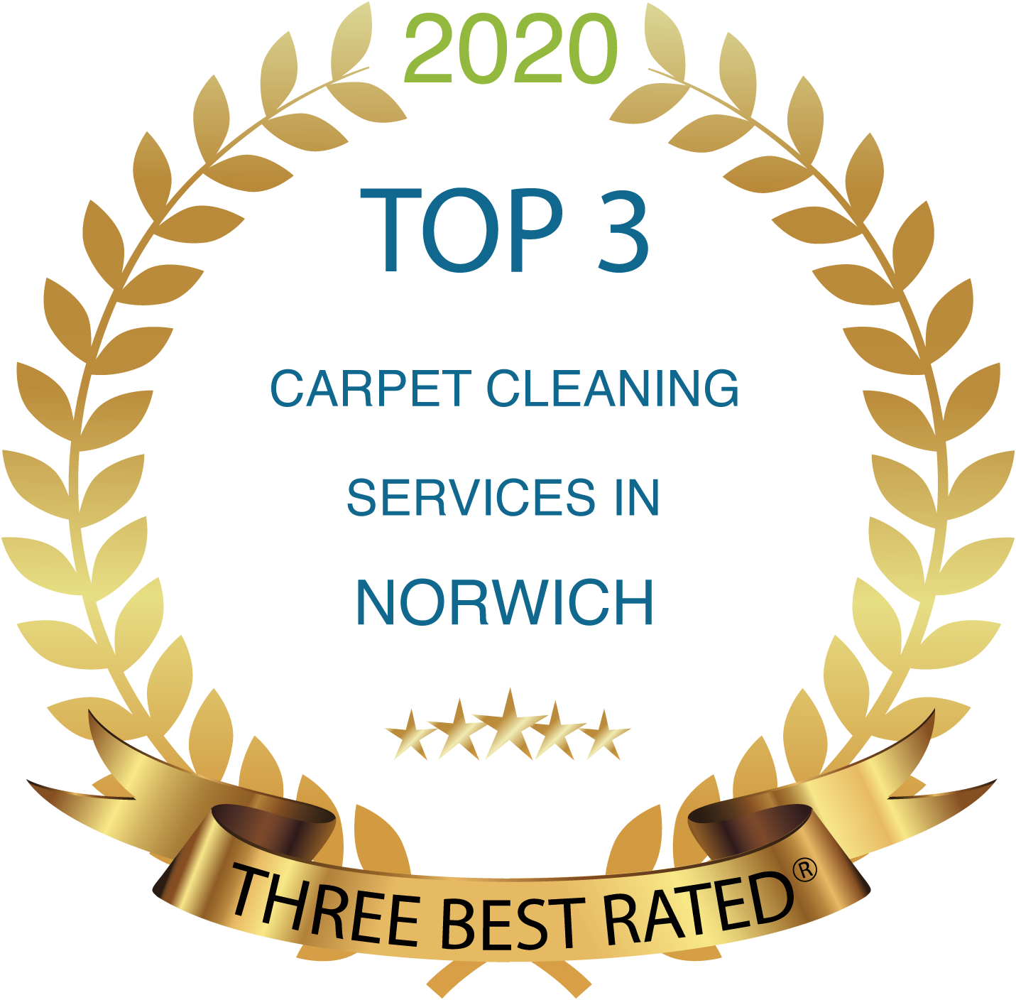 3 best rated carpet cleaners Norwich Award 2020